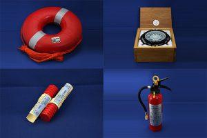 船舶法定備品の販売